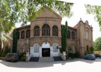 The KGA Hall is an imposing structural design, a European classic – tribute to its architect Moses Somake